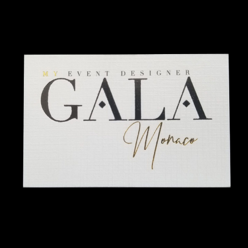 Carte de visite Gala