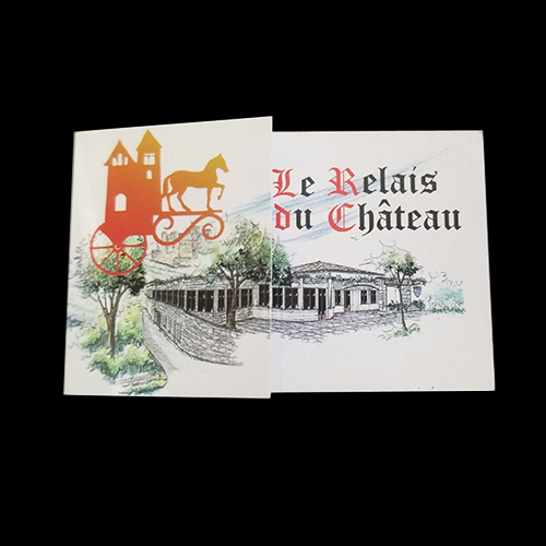 Carte de visite relais chateau
